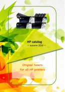 The biggest choice of original toners for all HP printers, copier and fax machines.